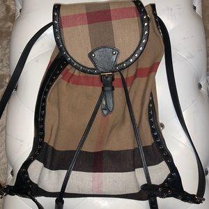 Burberry Nova Check Backpack